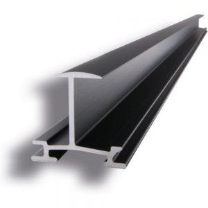 TRITEC inlegprofiel TS-35 Light, zwart, 6m