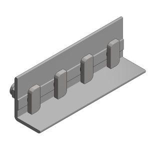 Van der Valk Producten bij Solartoday - Fotovoltage - verbindings- en bevestigingselementen - Alu koppelstuk voor Side++ profiel
