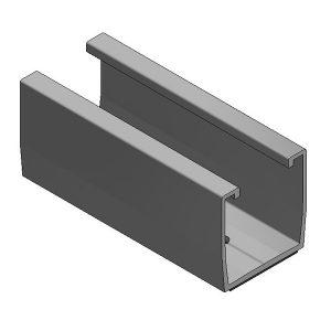 Van der Valk Producten bij Solartoday - Montageprofiel voor solarsysteem - Alu trapezium profiel L=120mm + EPDM