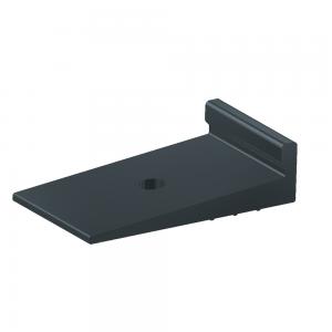 Van der Valk Producten bij Solartoday - Fotovoltage - verbindings- en bevestigingselementen - Rubber opvulplaatje voor trap. profiel op dakpanplaten