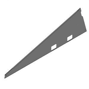 Van der Valk Producten bij Solartoday - Fotovoltage - verbindings- en bevestigingselementen - Verz zijplaat ValkPro+ L15° (links)