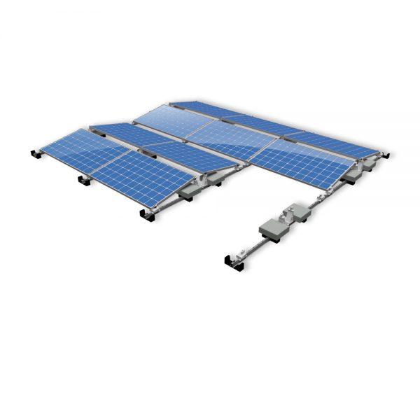 Van der Valk Producten bij Solartoday - Fotovoltage - verbindings- en bevestigingselementen - Alu voor voet ValkPro+ P/L10° zijkant