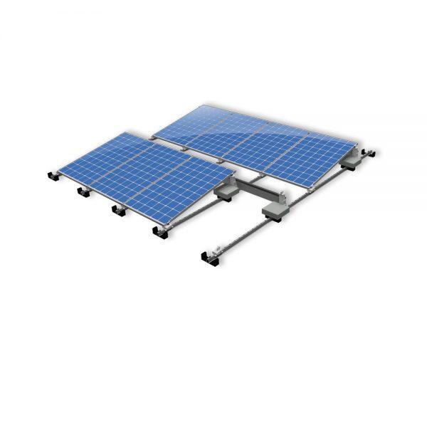 Van der Valk Producten bij Solartoday - Fotovoltage - verbindings- en bevestigingselementen - Verz ballast drager ValkPro+P10° L1159mm