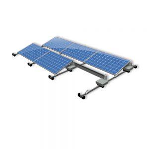Van der Valk Producten bij Solartoday - Fotovoltage - verbindings- en bevestigingselementen - Alu voor voet ValkPro+ L15° midden