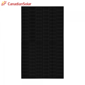 Canadian Solar CS3L-355MS zwart HiKu 35mm MC4
